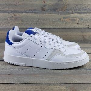 adidas Supercourt Leather Shoes White/Royal Blue